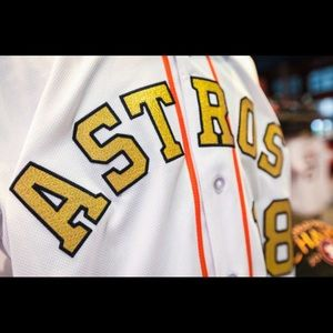 half off e52c7 2fa47 * COMING SOON* George Springer Astros Gold Jerseys NWT